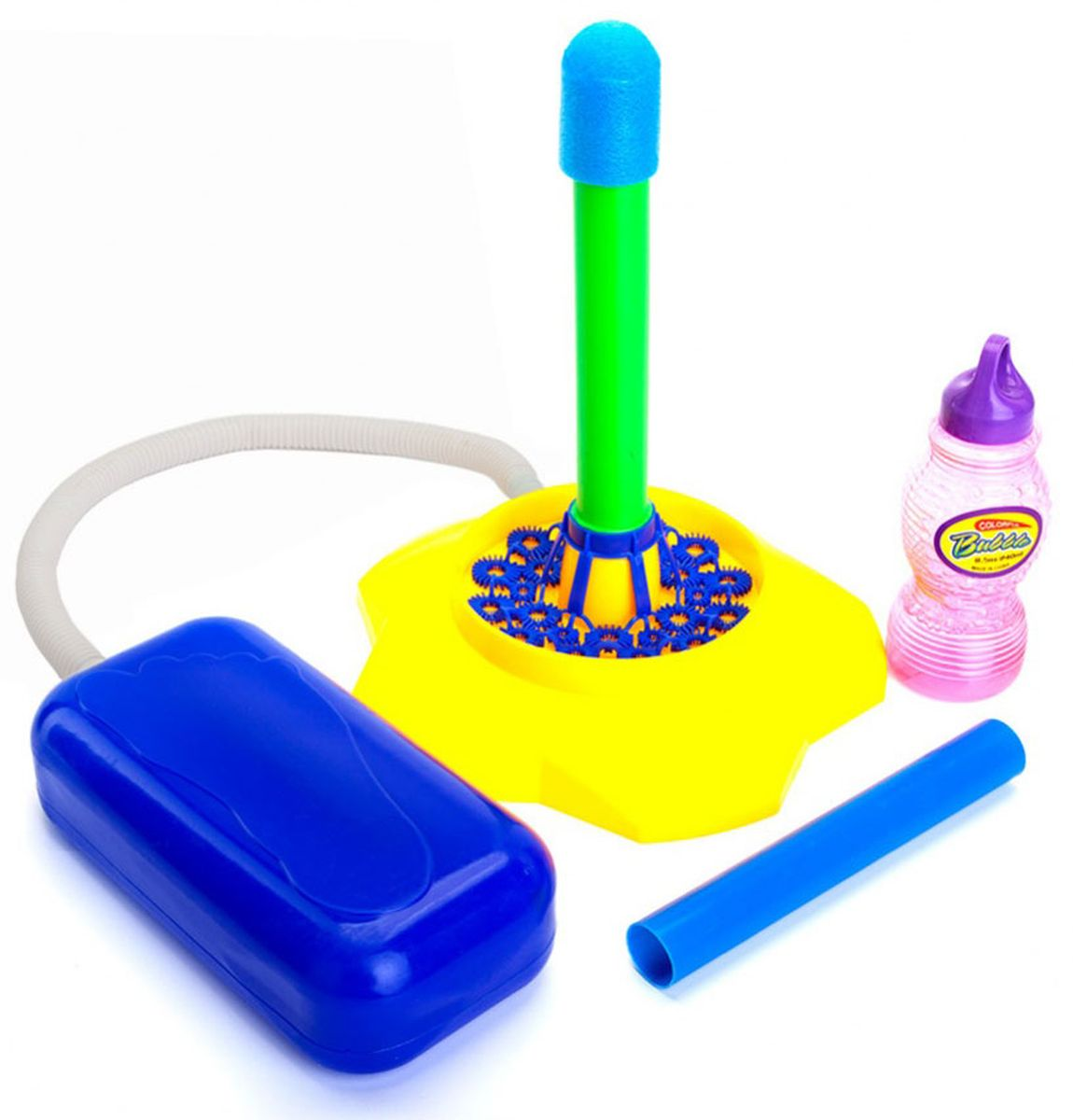 Bradex Ракета с мыльными пузырями и помпой Баббл sachajuan volume cream