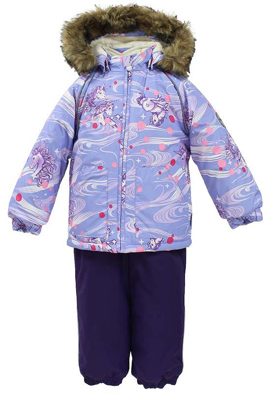 Комплект одежды для девочки Huppa Avery: куртка, полукомбинезон, цвет: светло-лилoвый, темно-лилoвый. 41780030-71143. Размер 9241780030-71143Комплект одежды детский Huppa Avery состоит из куртки и полукомбинезона. Куртка оснащена ветрозащитной планкой по всей длине молнии с защитой подбородка и безопасным съемным капюшоном. Полукомбинезон очень практичен: хорошо закрывает грудку и спинку ребенка, широкие эластичные регулируемые лямки. Вечерние прогулки в этом костюме будут не только приятными, но и безопасными благодаря светоотражающим элементам на куртке и полукомбинезоне.