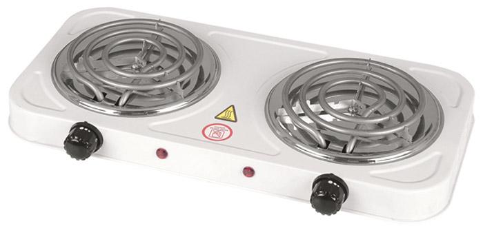 Gelberk GL-104 плита электрическаяGL-104Компактная настольная электрическая плитка Gelberk GL-104 оснащена двумя конфорками для быстрого разогрева и приготовления различных блюд. Прибор имеет плавную регулировку температуры и световую индикацию включения, а благодаря компактным размерам станет незаменимым помощником на даче или небольшой кухне.Мощность конфорок: 1000 Вт.