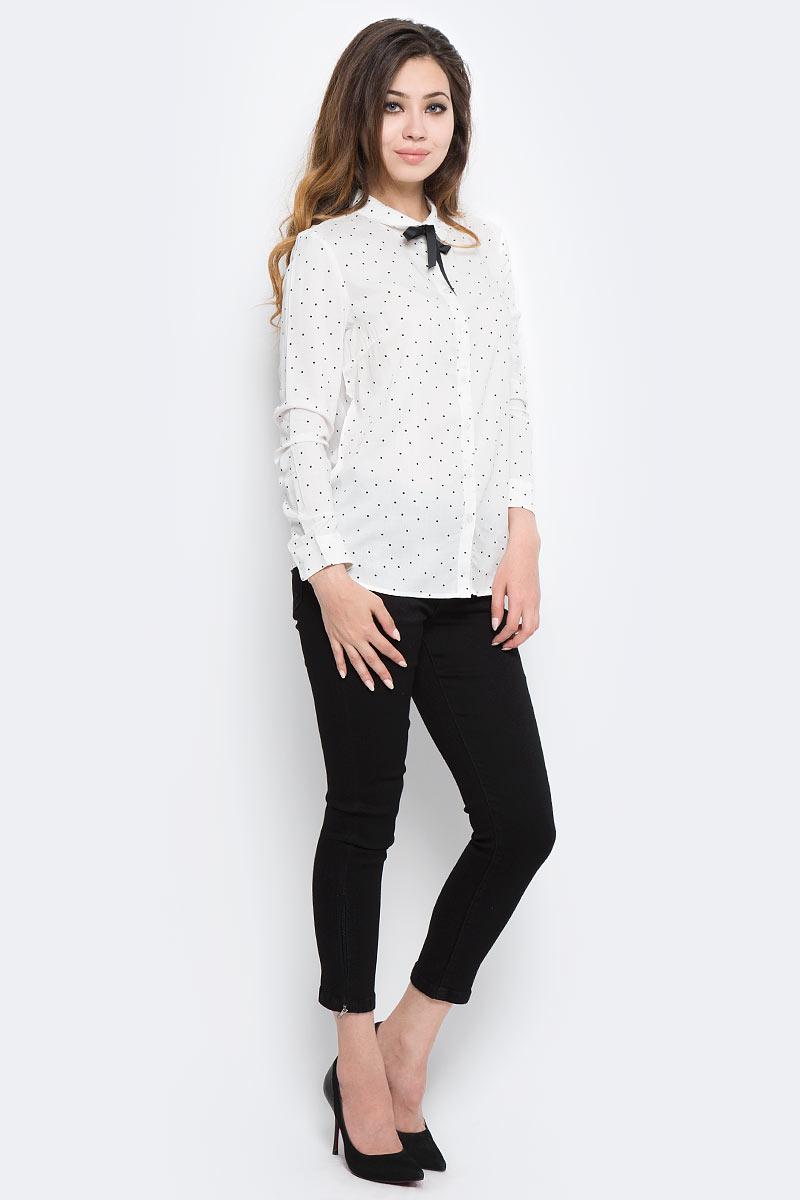 Блузка женская Sela, цвет: белый. B-112/1304-7350. Размер 48 sela se001ebotd99