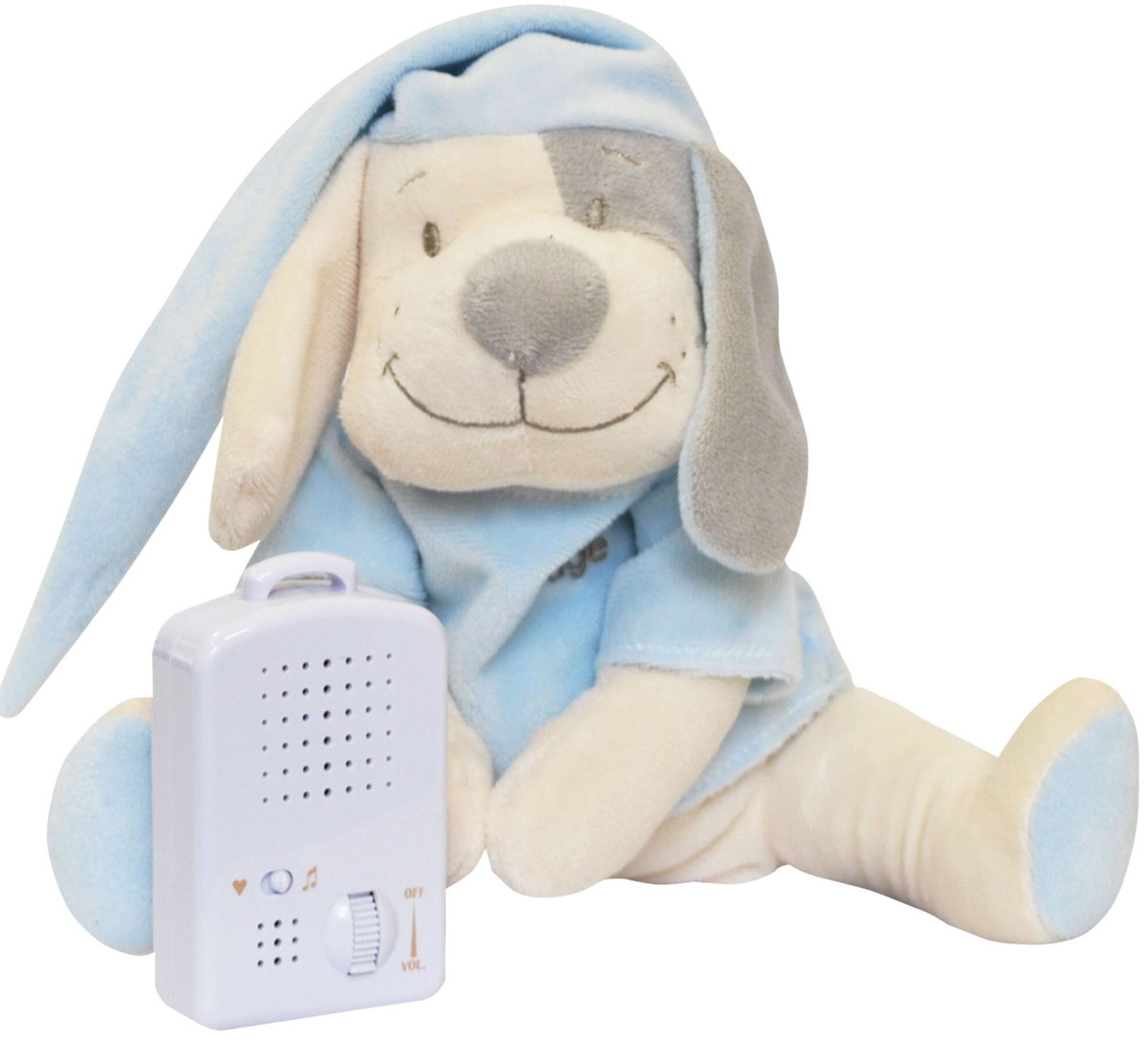 Doodoo Babiage Электронная игрушка Собачка цвет голубой 29 см - Интерактивные игрушки
