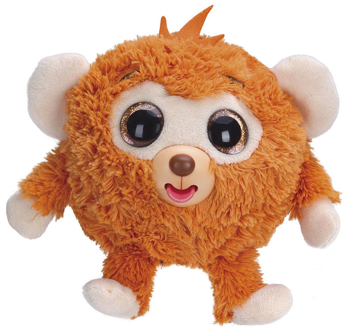 1TOY Мягкая озвученная игрушка Дразнюка-Zooка Обезьянка 13 см мягкая игрушка кайл 12см с чипом 1toy южный парк