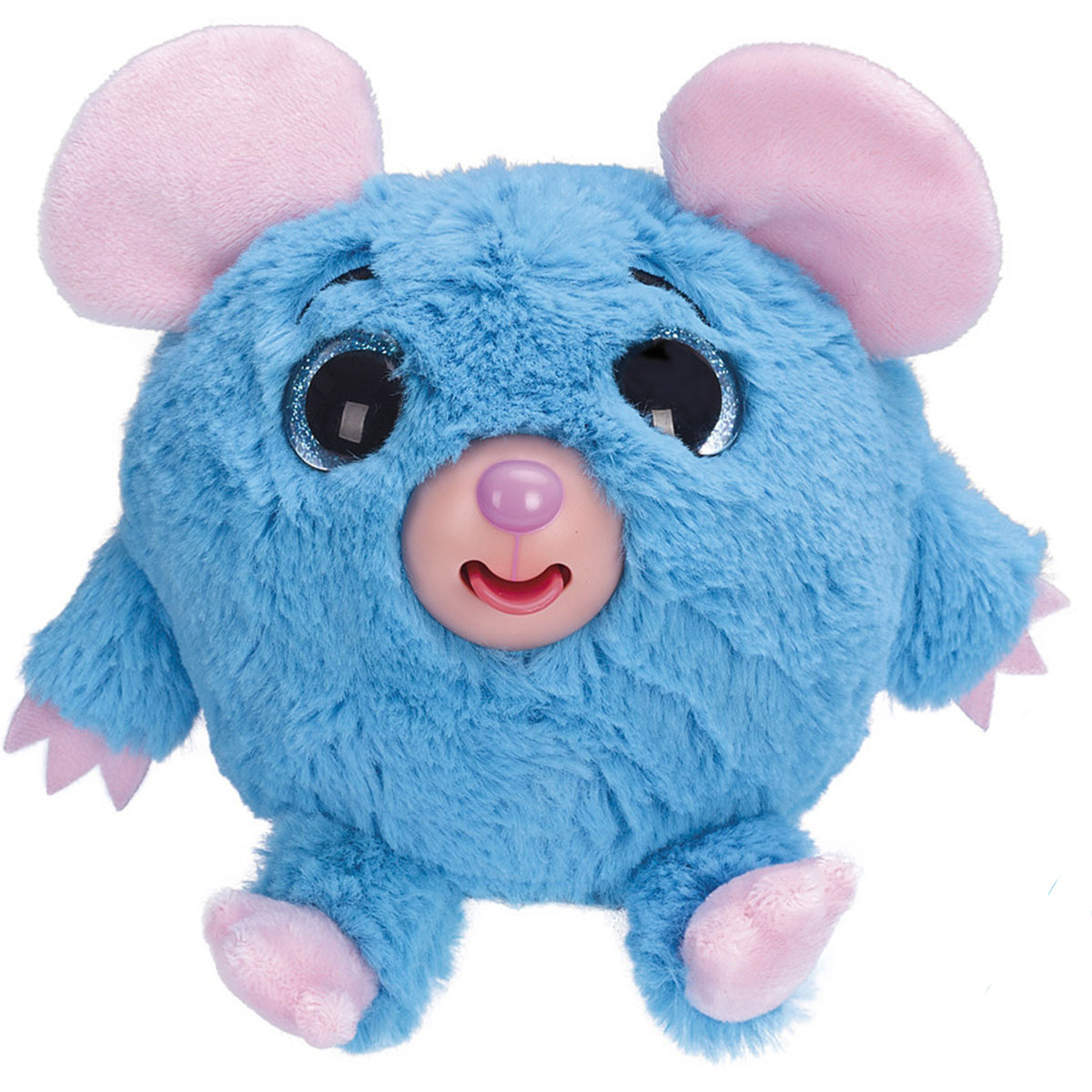 1TOY Мягкая озвученная игрушка Дразнюка-Zooка Мышка 13 см мягкая игрушка кайл 12см с чипом 1toy южный парк
