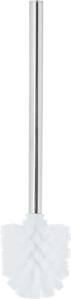 """Ерш для унитаза Коллекция """"Вива"""" состоит из ершика для унитаза и  подставки, выполненных из высококачественной керамики, пластика и металла.  Прочная ручка и жесткий ворс обеспечивают эффективное  использование. Подставка под ерш отличается легкостью и  компактностью. Такой набор станет достойным дополнением туалетной  комнаты.  Длина ерша для унитаза: 34 см.  Размер рабочей поверхности ерша: 9 х 8 см.  Размер подставки для ерша: 9,5 х 9,5 х 13,5 см. Высота ерша с подставкой: 34,5 см."""