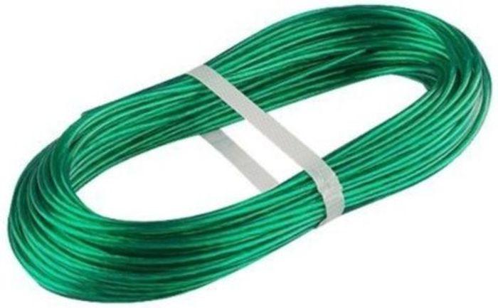 Шнур хозяйственный Tech-Krep, с полимерным покрытием, армированный, цвет: зеленый, 2 мм136618Шнур хозяйственный изготовлен из синтетических нитей, усилен стальной проволокой, благодаря чему выдерживает большие нагрузки, и полимерным покрытием, благодаря которому шнур становится влагостойким.