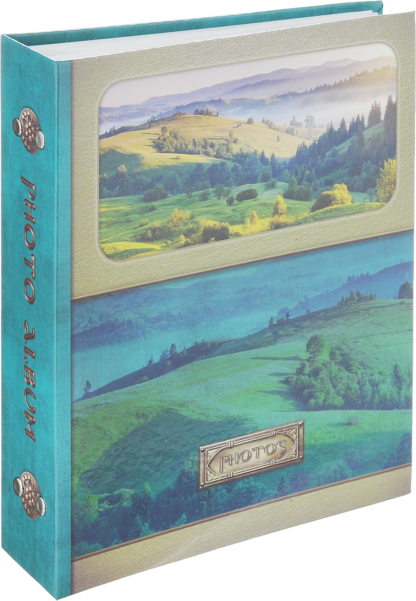 Фотоальбом Pioneer Landscape. Луга, 200 фотографий, 10 х 15 см46368 PP-46200_бирюзовый (луга)Фотоальбом Pioneer Landscape. Луга поможет красиво оформить ваши самые интересные фотографии. Обложка, выполненная из толстого ламинированного картона, оформлена ярким изображением. Внутри содержится блок из 50 белых листов с фиксаторами-окошками из полипропилена. Альбом рассчитан на 200 фотографий формата 10 х 15 см (по 2 фотографии на странице). Переплет - книжный. Нам всегда так приятно вспоминать о самых счастливых моментах жизни, запечатленных на фотографиях. Поэтому фотоальбом является универсальным подарком к любому празднику.Количество листов: 50.