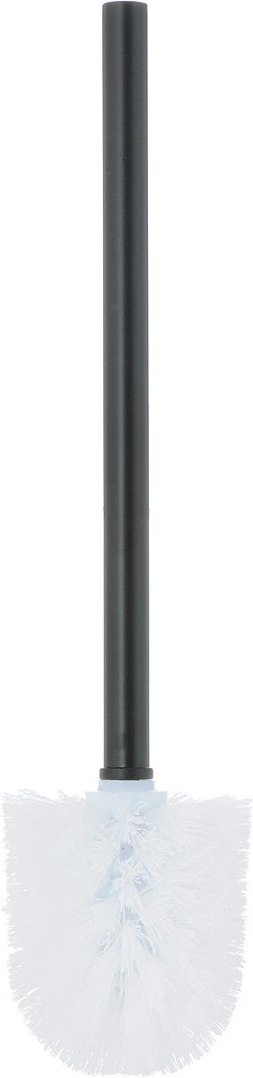 """Ершик для унитаза Коллекция """"Гео"""" состоит из ершика для унитаза и подставки, выполненных из высококачественной керамики и пластика. Прочная ручка и жесткий ворс обеспечивают эффективное использование.Подставка под ерш отличается легкостью и компактностью.Такой набор станет достойным дополнением туалетной комнаты. Длина ерша для унитаза: 36,5 см. Размер рабочей поверхности ерша: 9,5 х 8 см. Размер подставки для ерша: 11 х 11 х 12 см.Размер стакана для подставки: 10 х 10 х 11 см.Высота ерша с подставкой: 37,5 см."""
