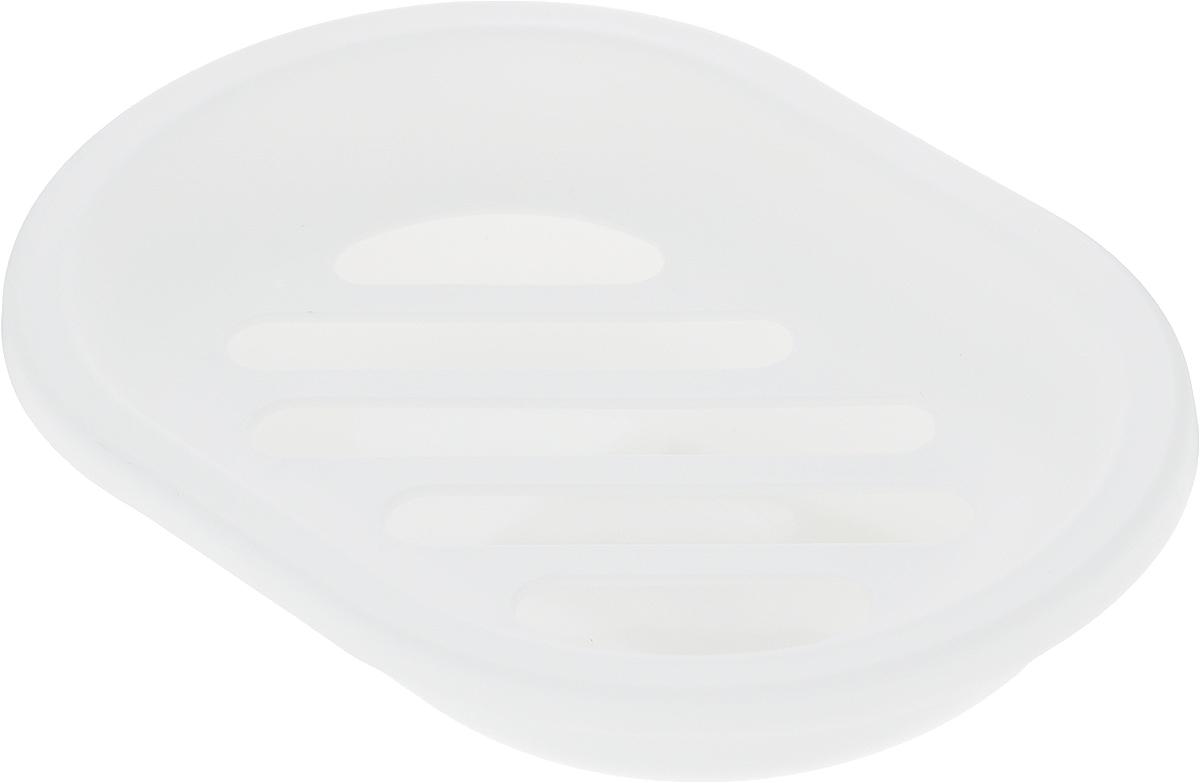Мыльница Коллекция Мико, 13 х 9,5 х 2,5 смATP-500Мыльница Коллекция Мико - это стильный аксессуар для хранения мыла. Полипропилен высокого качества, из которого выполнено изделие, обеспечивает простоту в уходе, прочность и долговечность. Мыльница Коллекция Мико отлично впишется в любой интерьер ванной комнаты.