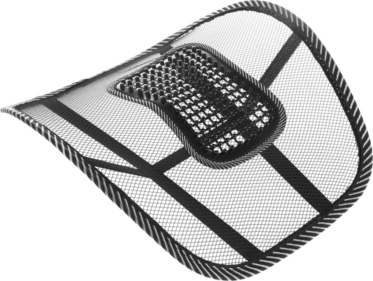 Корректор поясничного отдела Bradex Офис-комфортKZ 0157Корректор Bradex Офис-комфорт имеет форму, полностью повторяющую контуры спины, что способствует автоматическому закреплению правильной осанки и формирует комфортное положение спины во время сидения. Спинка приспособления оснащена массажной поверхностью, состоящей из выпуклостей, что обеспечит дополнительный комфорт и стимуляцию кровообращения в области поясничного отдела. Удобная и простая в применении конструкция позволяет легко использовать приспособление. Изделие надежно и просто прикрепляется к любому стулу или креслу. Корректор рекомендован: - людям, регулярно испытывающим нагрузки на спину, - при сидячем образе жизни с минимумом физических нагрузок, - для тех, кто ценит комфорт на рабочем месте. Корректор Bradex Офис-комфорт снимет нагрузку и усталость с мышц и подарит расслабление. Подходит как для взрослых, так и для детей.