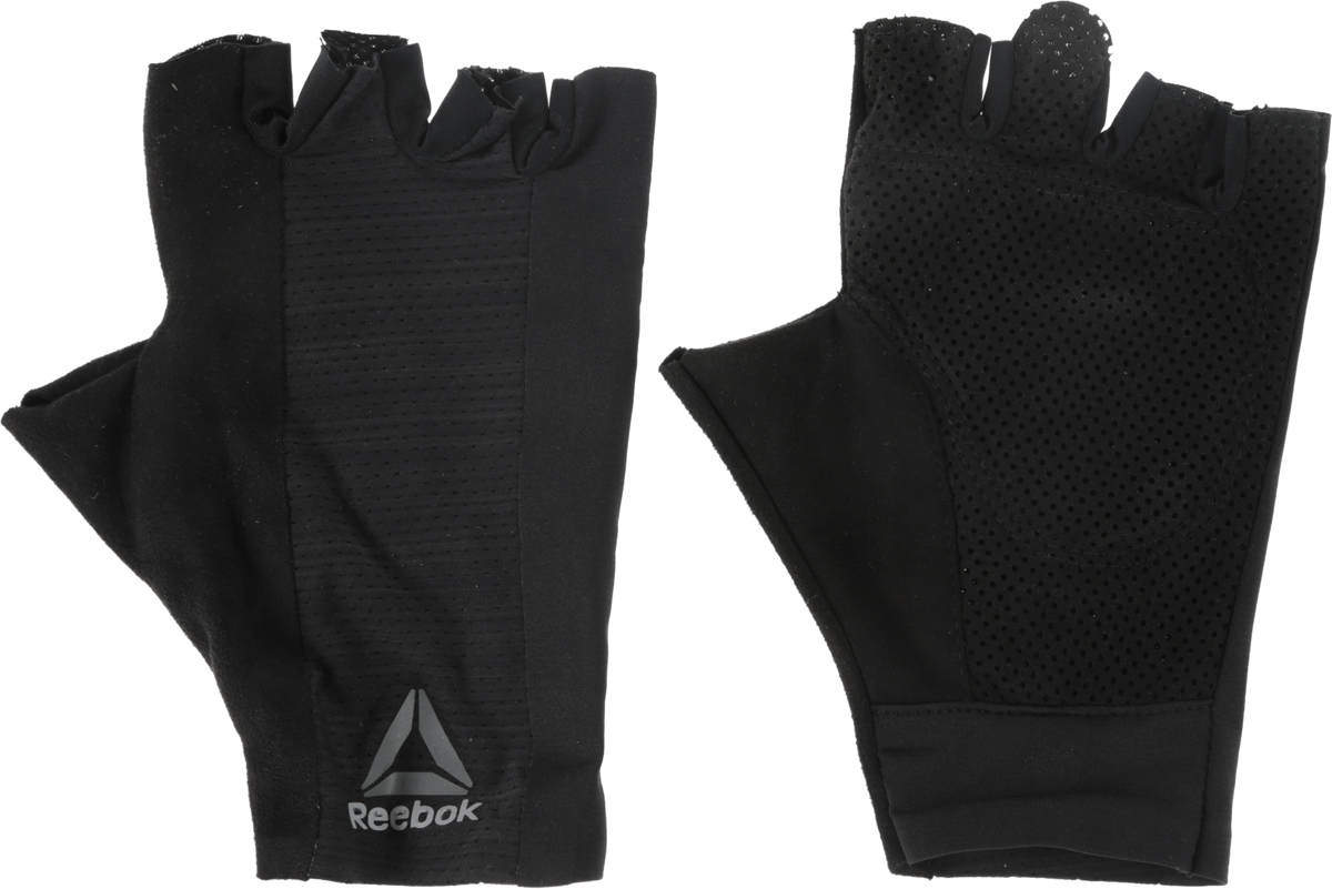 Перчатки для фитнеса Reebok  Os U Training Glove , цвет: черный. BK6288. Размер L (22) - Одежда, экипировка