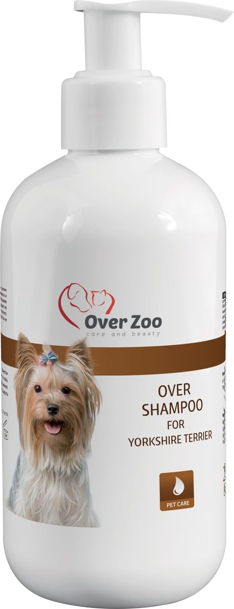 Шампунь OverZoo, для Йоркширских Терьеров, 250 мл5900784257Шампунь OverZoo изготовлен для йоркширских терьеров.Шампунь содержит протеины кашемира, которые великолепно питают волосы и снимают статическое напряжение во время расчесывания. Благодаря маслу авокадо шерсть легко расчесывается. Нежные моющие вещества не раздражают кожу животного и заодно тщательно моют и увлажняют ее. Шампунь содержит экстракт календулы, который разглаживает и ухаживает за волосами.Продукт не содержит красителей и соли. Он рекомендуется для собак с чувствительной кожей. Способ применения: нанести небольшое количество шампуня на предварительно смоченнуюшерсть, втирать в течение нескольких минут, избегая контакта с глазами, а затем смыть теплой водой. В случае необходимости действие повторить.