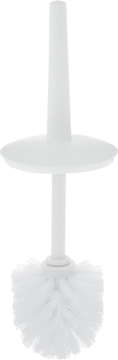 """Ерш для унитаза Коллекция """"Мико"""" состоит из ершика для унитаза и  подставки, выполненных из высококачественного полипропилена.  Прочная ручка и жесткий ворс обеспечивают эффективное  использование. Подставка под ерш отличается легкостью и  компактностью. Такой набор станет достойным дополнением туалетной  комнаты.  Длина ерша для унитаза: 31 см.  Размер рабочей поверхности ерша: 8 х 8 см.  Размер подставки для ерша: 10 х 10 х 21,5 см. Высота ерша с подставкой: 34 см."""