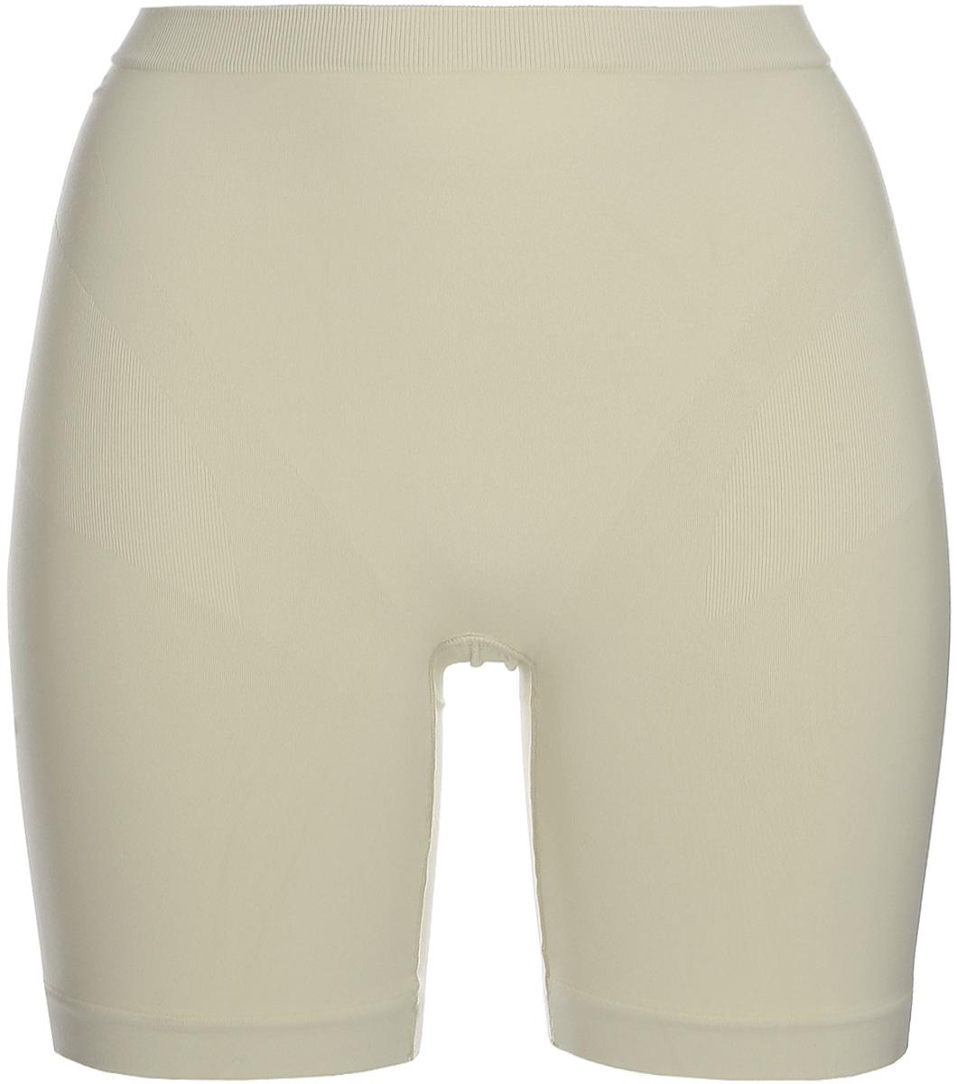 Трусы-шорты женские корректирующие Intimidea Silhouette, цвет: бежевый. 410135_Skin. Размер S/M (40/42)