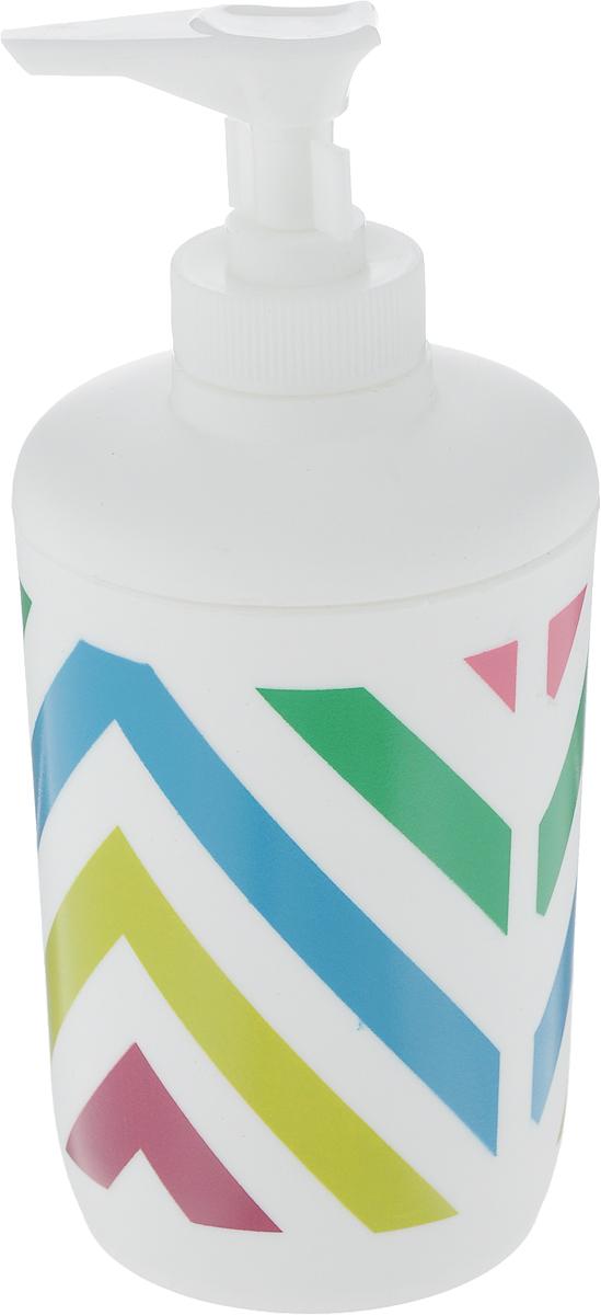 Диспенсер для жидкого мыла Коллекция Мико, высота 16 смATP-501Диспенсер для жидкого мыла Коллекция Мико, изготовленный из высококачественного полипропилена, отлично подойдет для вашей ванной комнаты. Такой аксессуар очень удобен в использовании, достаточно лишь перелить жидкое мыло в диспенсер, а когда необходимо использование мыла, легким нажатием выдавить нужное количество. Диспенсер для жидкого мыла Коллекция Мико создаст особую атмосферу уюта и максимального комфорта в ванной.Размер диспенсера: 7 х 7 х 16 см.