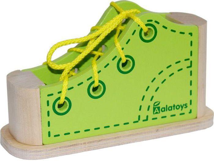 Alatoys Шнуровка Ботинок белый ботинок черный шнурок