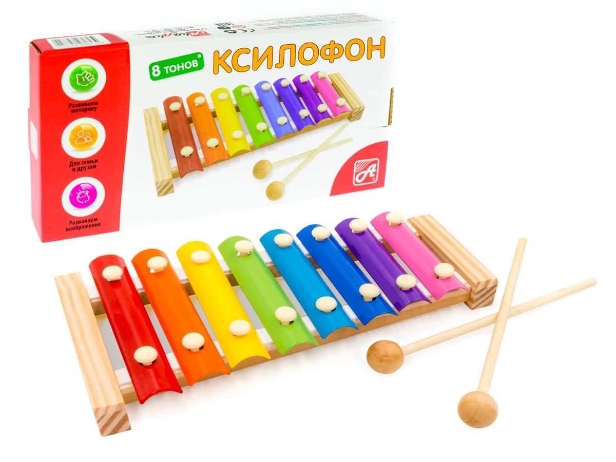 Анданте Ксилофон 8 тонов smoby музыкальный инструмент ксилофон 211013