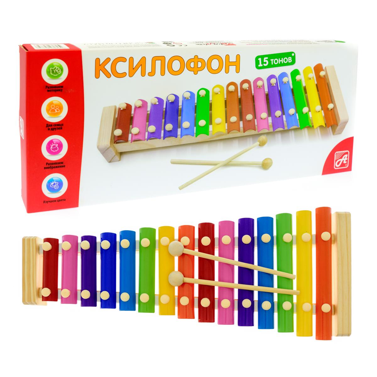 Анданте Ксилофон 15 тонов - Музыкальные инструменты
