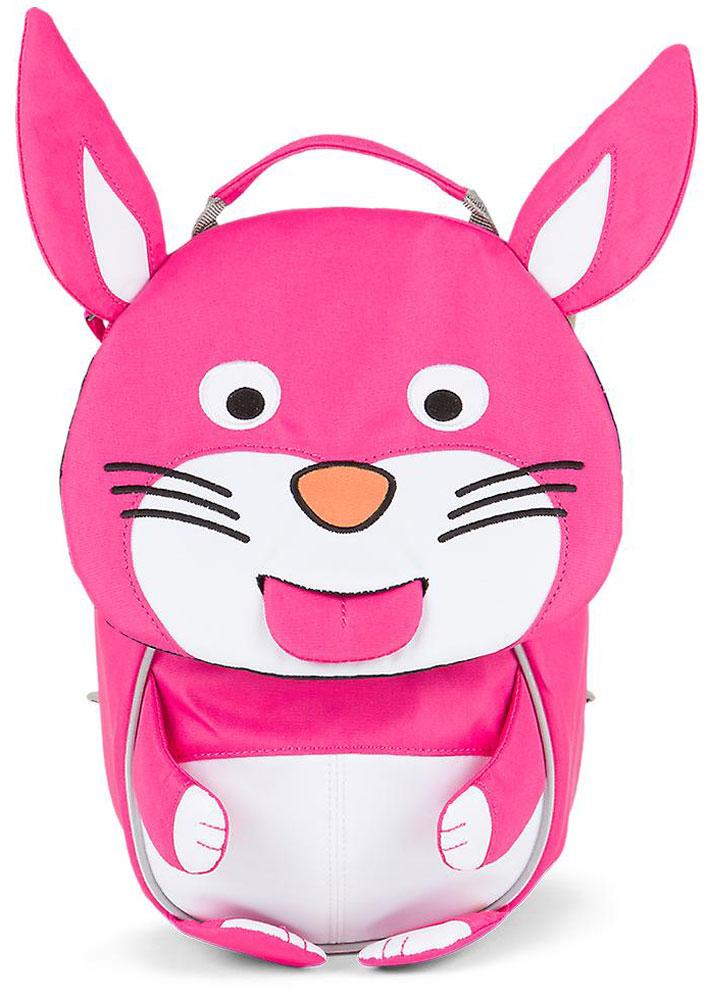 Affenzahn Рюкзак дошкольный Henni RabbitAFZ-FAS-001-010Рюкзак Affenzahn, выполненный из прочного материала, предназначен для детей раннего возраста.Предусмотрена возможность регулировки лямочной системы, в частности, нагрудного ремня по высоте. Рюкзак включает в себя вместительное внутреннее отделение с растягивающимся карманом. На ярлыке в виде высовывающегося языка можно написать имя ребенка. Изделие оснащено ручкой для переноски. Светоотражающие элементы на внешней стороне рюкзака повышают безопасность на улице.