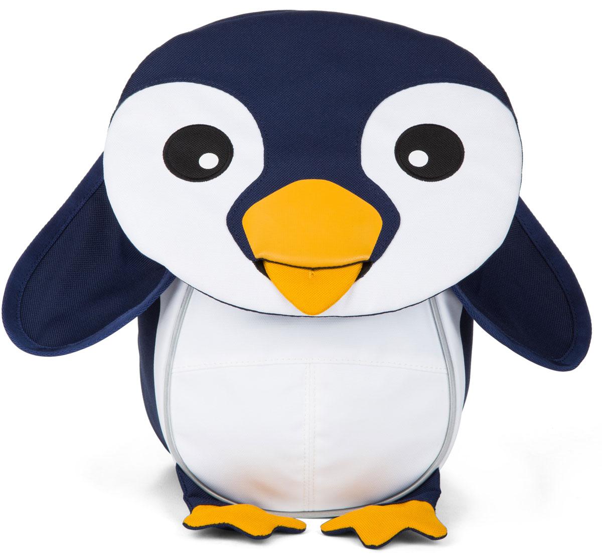 Affenzahn Рюкзак дошкольный Pepe Penguine цвет синий белый -  Ранцы и рюкзаки