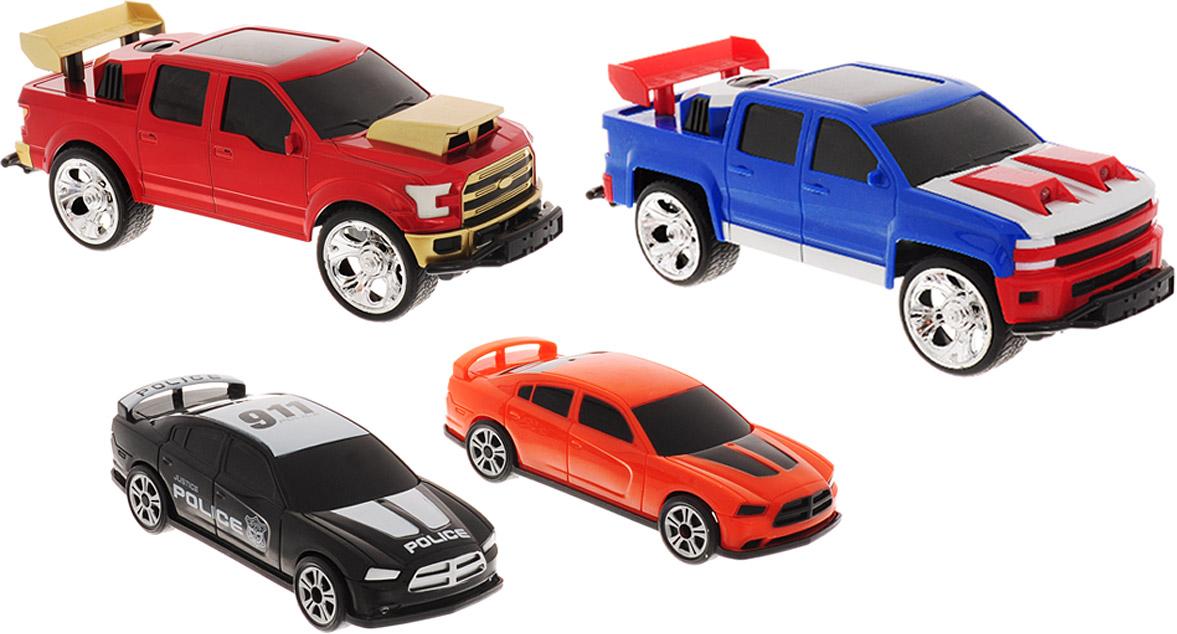 Bluesea Набор машинок на радиоуправлении Боевые машины - Радиоуправляемые игрушки