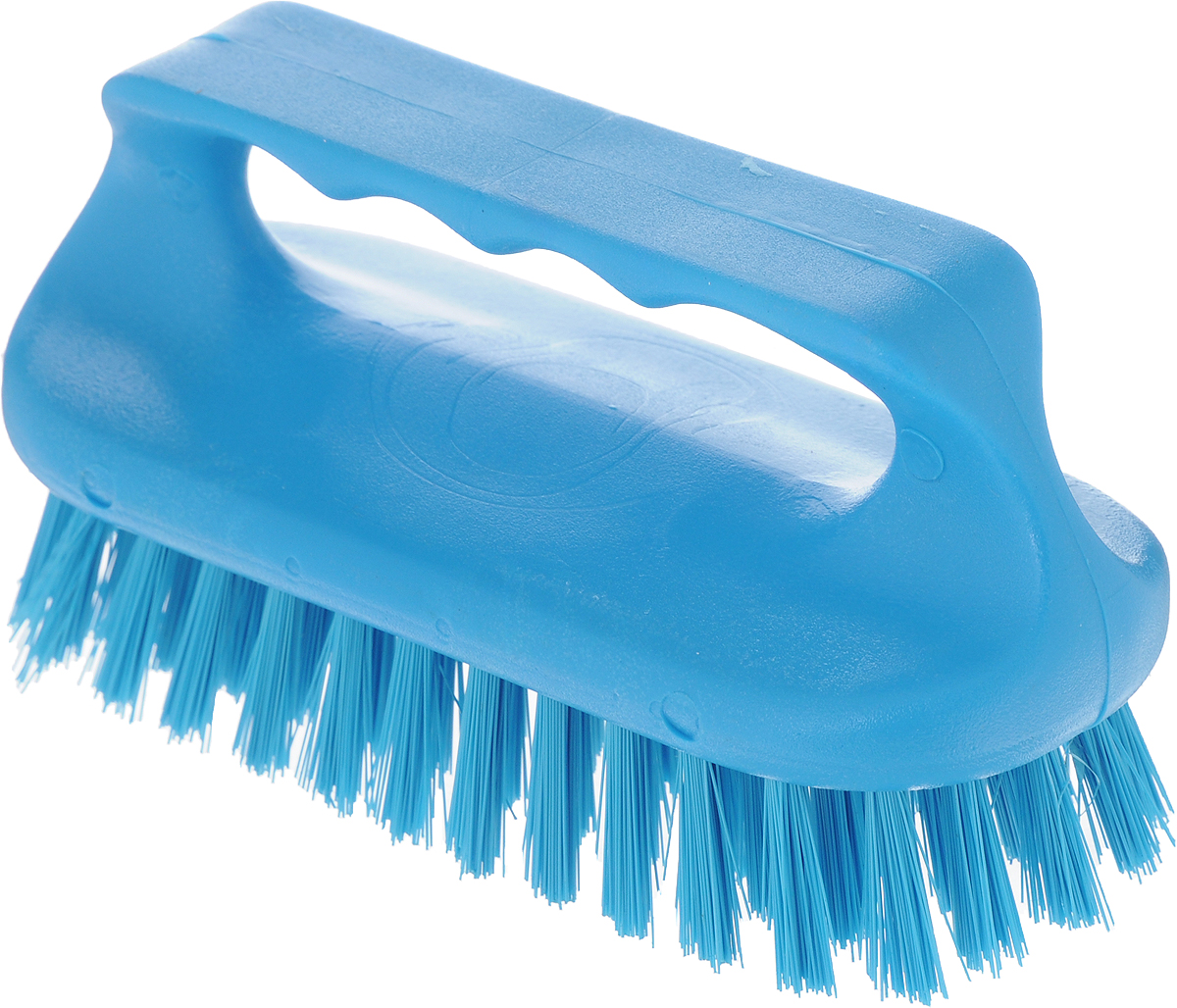 Щетка для ванны Хозяюшка Мила Сальвия, цвет: голубой24006_голубойЩетка для ванны Хозяюшка Мила Сальвия, изготовленная из высокопрочного пластика, идеально подходит для снятия сильных загрязнений. Удобная ручка делает процесс чистки комфортным, а форма щетки позволяет хорошо чистить даже труднодоступные места. Щетина средней жесткости не повреждает поверхность. Длина щетины: 2,5 см.