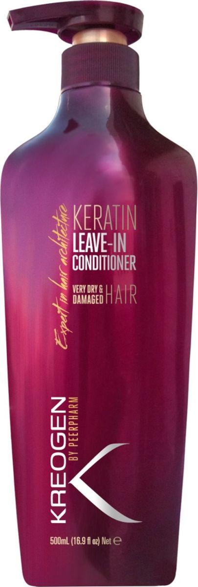 Kreogen Несмываемый кератиновый кондиционер для очень сухих и поврежденных волос, Kreogen, 500 млKr2031Основной активный ингредиент косметики Kreogen - кератин - чрезвычайно сильный протеин, основной компонент структуры волос.- 2 в 1: максимальный увлажняющий уход + защита;- можно наносить на сухие или мокрые волосы перед сушкой, имеет легкий эффект стайлингового средства и облегчает укладку;- защищает волосы от высоких температур, УФ-лучей, многократного окрашивания или частого использования фена;- комплекс ценных витаминов обеспечивает прочность волос.
