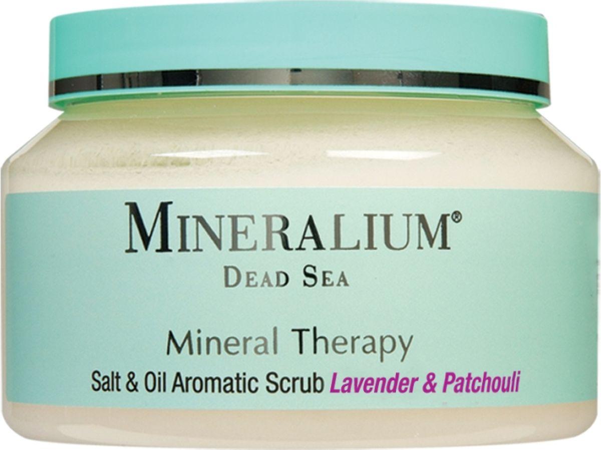Minerallium Солевой скраб для тела «Лаванда и пачули», Minerallium 500 мл - Для мамы