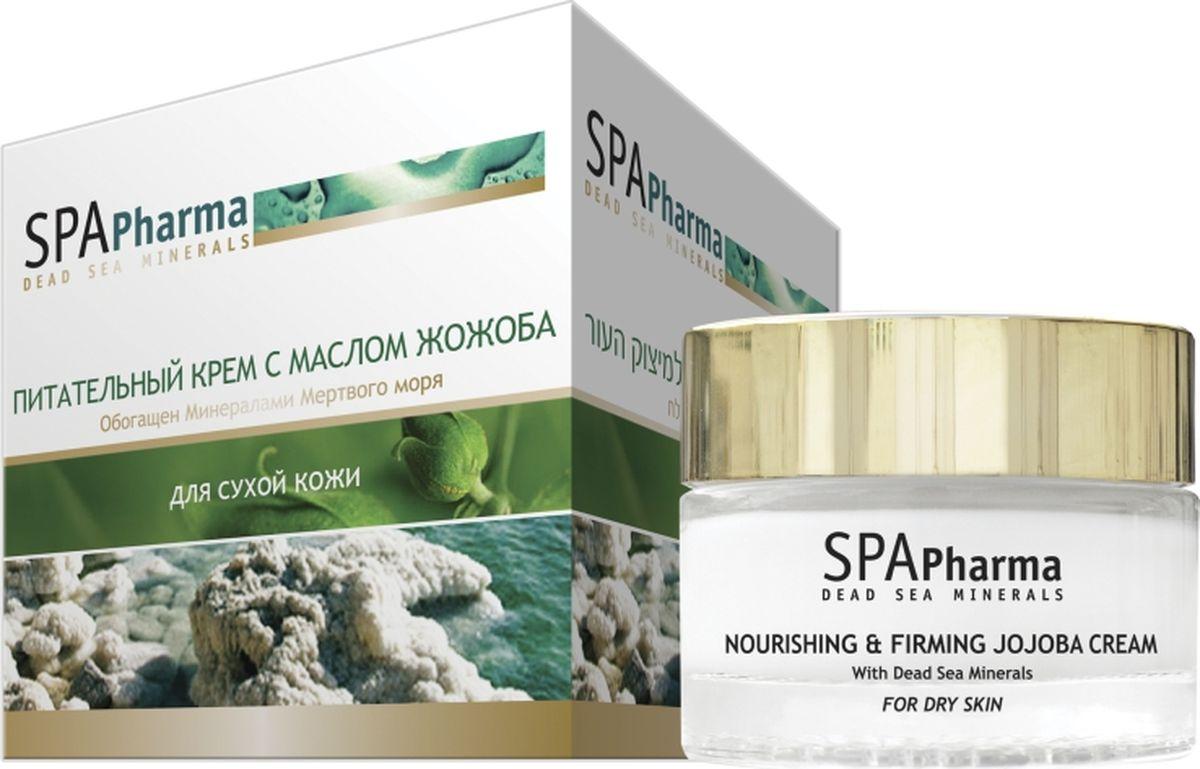 Spa Pharma Питательный крем с маслом жожоба для сухой кожи, Spa Pharma 50 млSPh1664Крем содержит высокую концентрацию масла жожоба, благодаря чему запускает регенерацию клеток даже в глубоких слоях эпидермиса, интенсивно питает; - эффективно снимает раздражение и смягчает сухую кожу, убирает следы усталости, влияния погоды, шелушения и стресса.