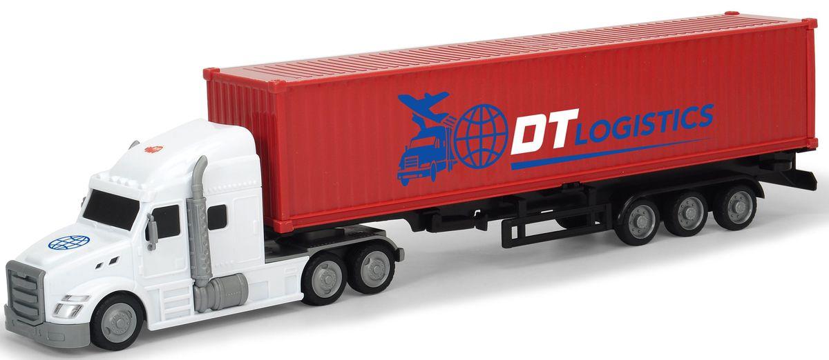 Dickie Toys Трейлер с прицепом dickie трактор с прицепом фрикц 42 см 3 в 1 6