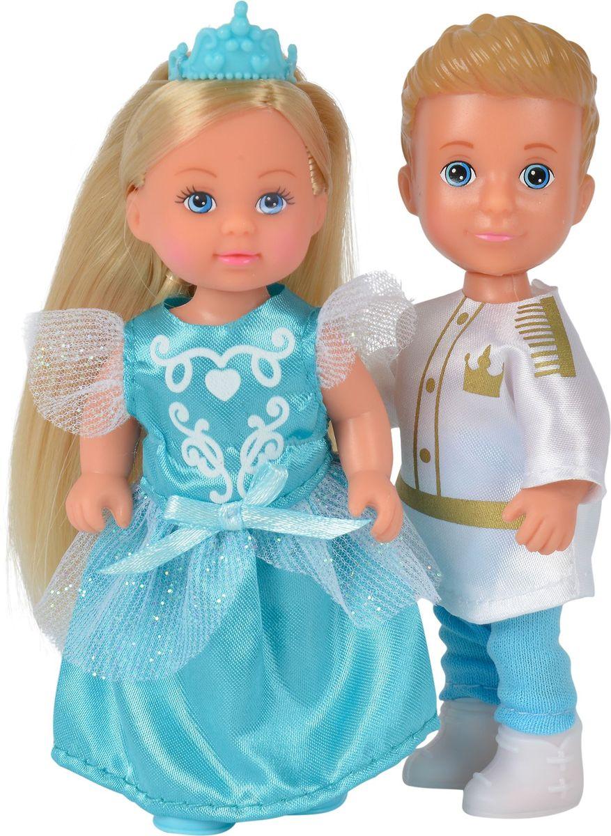 Simba Набор кукол Тимми и Еви Принц и принцесса куклы и одежда для кукол simba кукла еви и тимми на аттракционах 12 cм