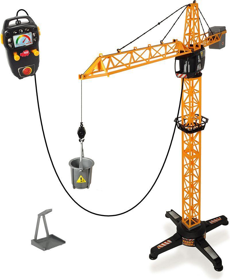 Dickie Toys Кран на дистанционном управлении