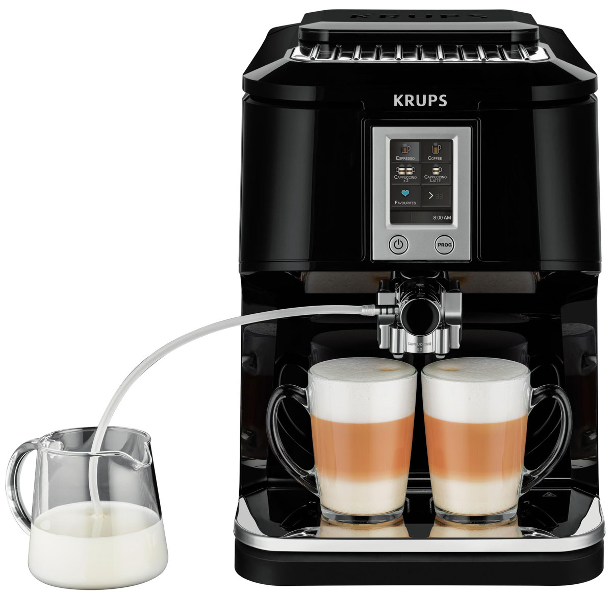 Krups EA8808 Two-in-One-Touch Cappuccino кофемашина EA880810