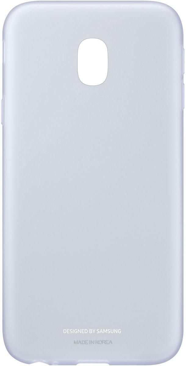 Samsung Jelly Cover чехол для Galaxy J3 (2017), BlueEF-AJ330TLEGRUЧехол-накладка Samsung Jelly Cover для Galaxy J3 (2017) обеспечивает надежную защиту корпуса смартфона от механических повреждений и надолго сохраняет его привлекательный внешний вид. Накладка выполнена из высококачественного материала, плотно прилегает и не скользит в руках. Чехол также обеспечивает свободный доступ ко всем разъемам и клавишам устройства.