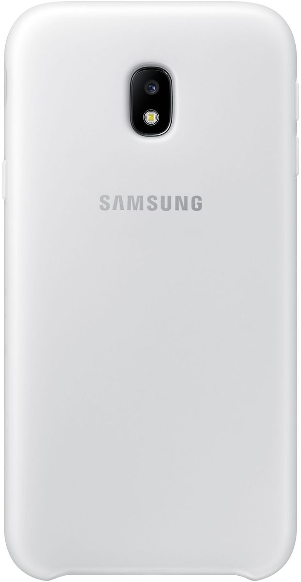 Samsung Dual Layer Cover чехол для Galaxy J3 (2017), White