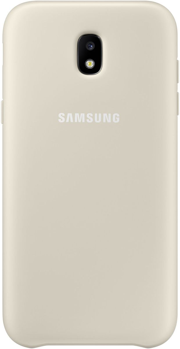 Samsung Dual Layer Cover чехол для Galaxy J3 (2017), Gold