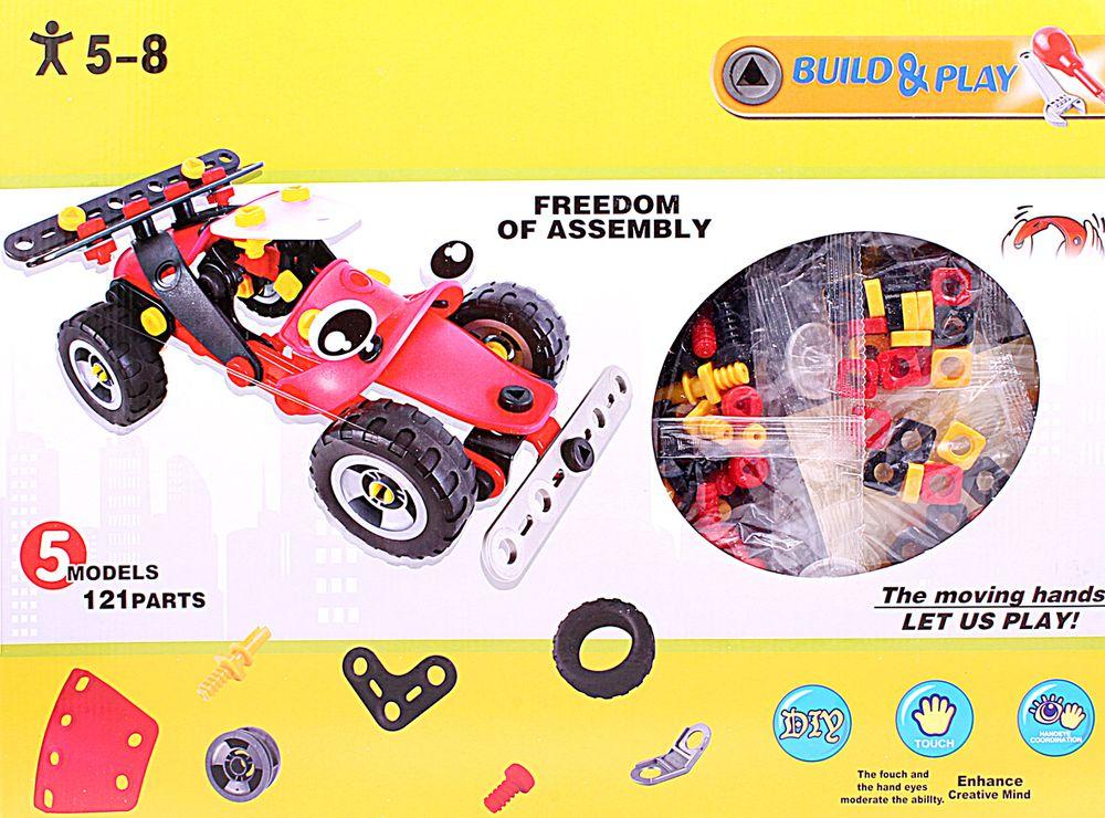 ToyToys Конструктор Гоночная машинка конструктор funny line motoblock машинка гоночная s black 75896