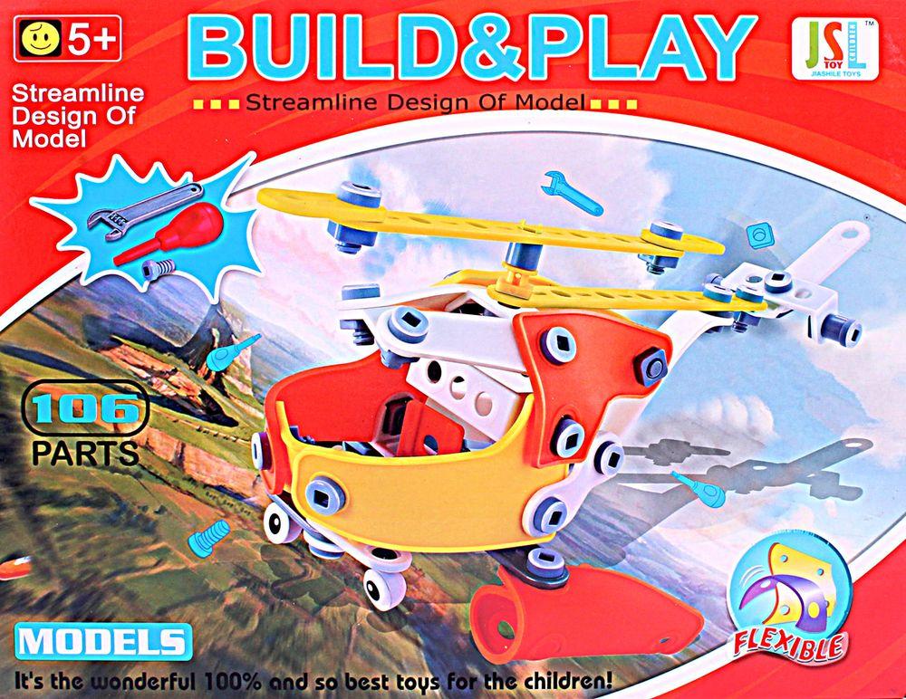 ToyToys Конструктор Вертолет TOTO-026 toytoys конструктор гоночные машины toto 074