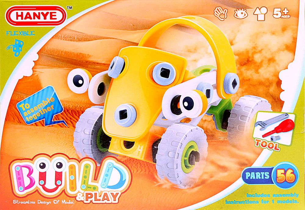 ToyToys Конструктор Пустынная машина toytoys конструктор гоночная машина toto 019