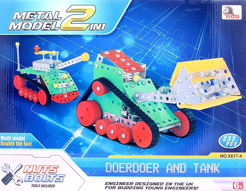 ToyToys Конструктор Пушка и бульдозер TOTO-079 toytoys конструктор гоночные машины toto 078