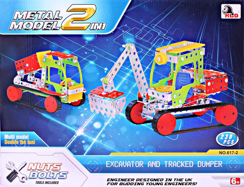 ToyToys Конструктор Экскаватор и погрузчик TOTO-077