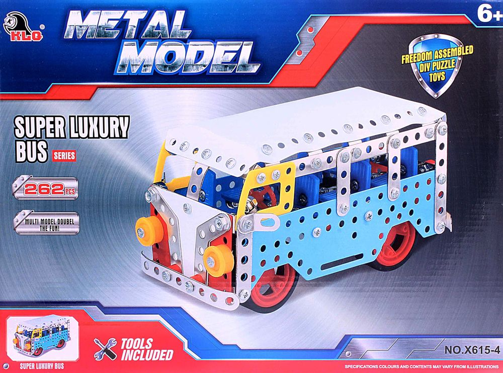 ToyToys Конструктор Автобус toytoys магнитный конструктор toto 011