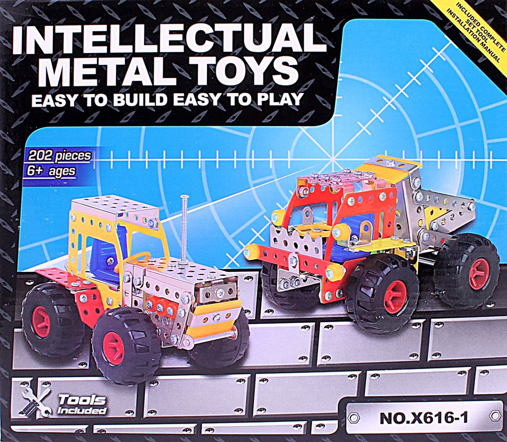 ToyToys Конструктор Трактор и грузовик toytoys магнитный конструктор toto 011