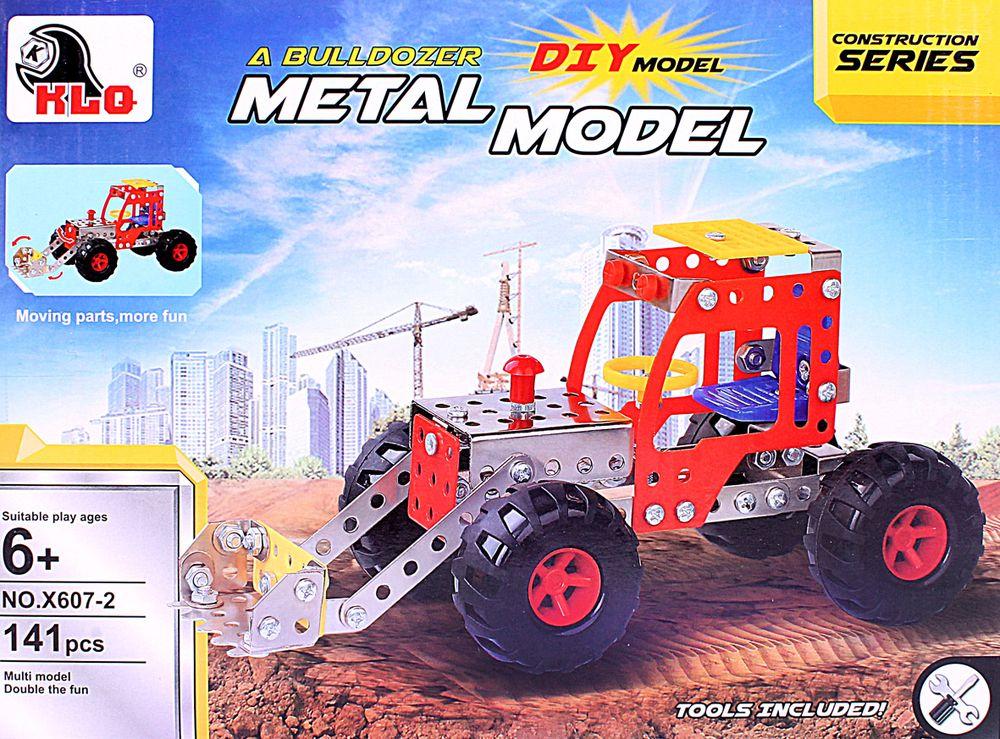 ToyToys Конструктор Трактор книга ваш ребенок