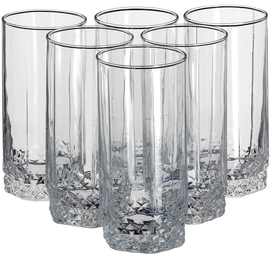 Набор стаканов для пива Pasabahce Valse, 420 мл, 6 шт