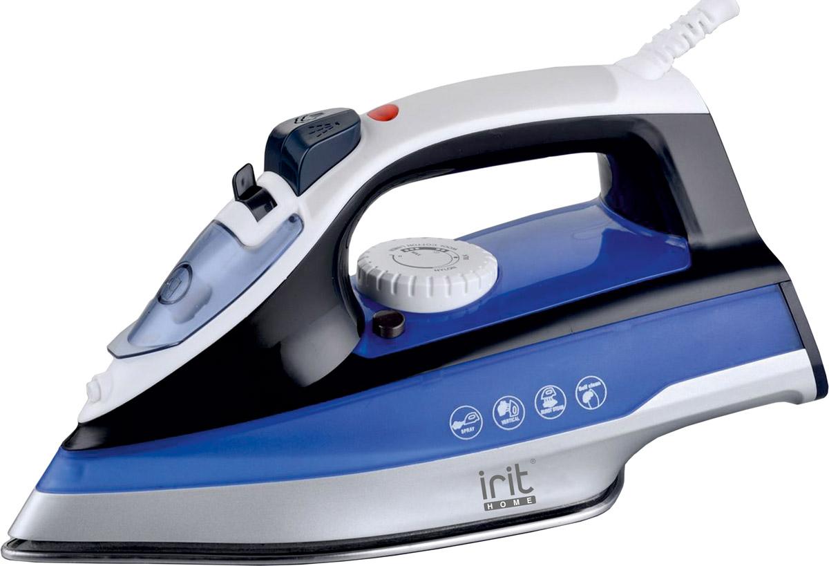 Irit IR-2227 утюгIR-2227Утюг Irit IR-2227 мощностью 2200 Вт имеет подошву с керамическим покрытием. Обладает функциями сухого глажения, спрея и пара, самоочистки. Шнур утюга свободно вращается на 360 градусов.Утюг оснащен регулируемым термостатом управления, световым индикатором и защитой от перегрева.