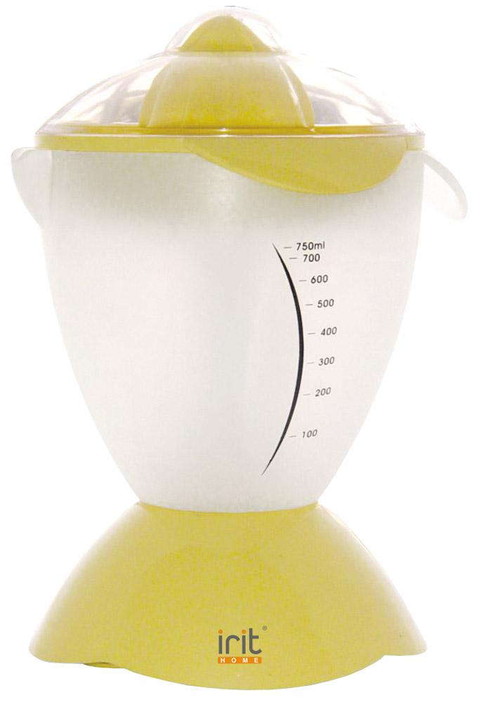 Irit IR-5073, White, Yellow соковыжималкаIR-5073Эргономичная электрическая соковыжималка Irit IR-5073 для цитрусовых со встроенной емкостью для сока поможет без труда приготовить ваш любимый напиток.Особенности модели:корпус из пластикакрышка с защитными фиксаторамимпульсный режимколичество скоростей - 1.