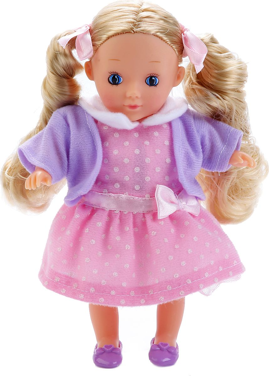 Карапуз Кукла озвученная 18 см куклы карапуз кукла полина 30см озвученная с набором одежды