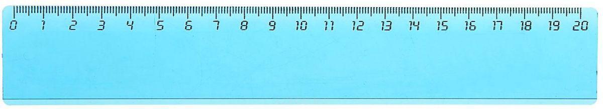 Стамм Линейка цвет прозрачно-голубой 20 см584807Линейка — необходимый инструмент рабочего стола.Пластиковая линейка Стамм с прозрачной тонировкой может понадобиться при изучении любого школьного предмета. Провести прямую линию и начертить отрезок на уроке математики? Легко! Подчеркнуть подлежащее, сказуемое или деепричастный оборот в домашнем задании по русскому языку? Проще простого! Возможности применения этого приспособления широки: оно пригодится как на занятиях в учебном заведении, так и при выполнении работы дома, а также поспособствует развитию начальных навыков черчения!
