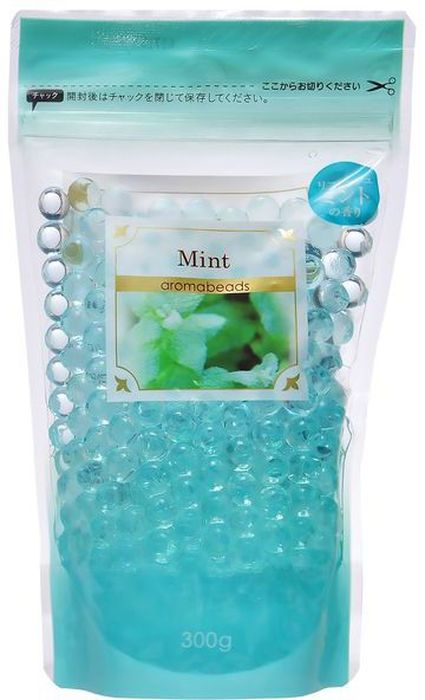 Освежитель воздуха Can Do, капсулы-шарики, с ароматом мяты, сменная упаковка, 300 г4521006464406
