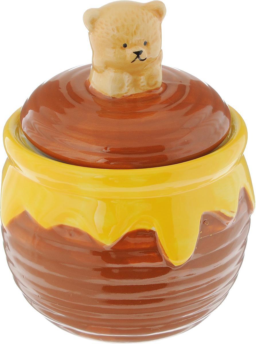 Горшочек для меда Elan Gallery Мишка косолапый, 380 мл мишка косолапый